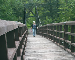 Kim on Bridge