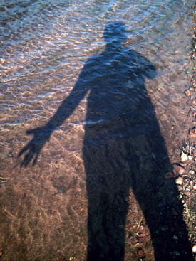 Self Portrait, River Live Series, copyright Kim Nixon