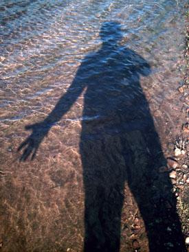 Self Portrait, River Live Series, copyright Kim Nixon