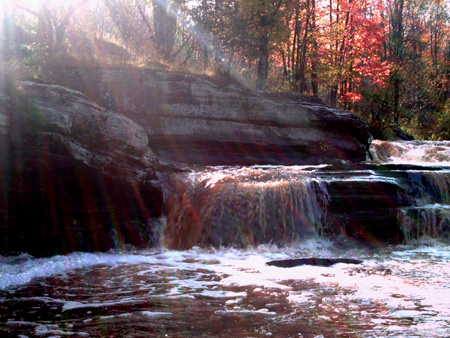 Bonanza Falls, Copyright Kim Nixon 2007