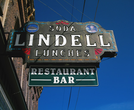 Lindells, Lake Linden August 2007