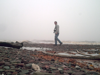Mike in the Mist