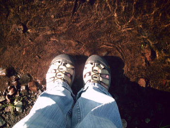 My Happy Feet, Dead River, 09-2007