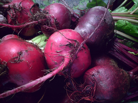 Beets (Marquette Food Co-op Open House) copyright Kim Nixon