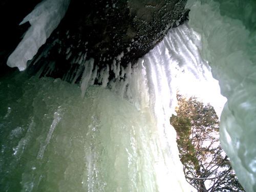 Eben Ice Caves, Photo 75, copyright Kim Nixon
