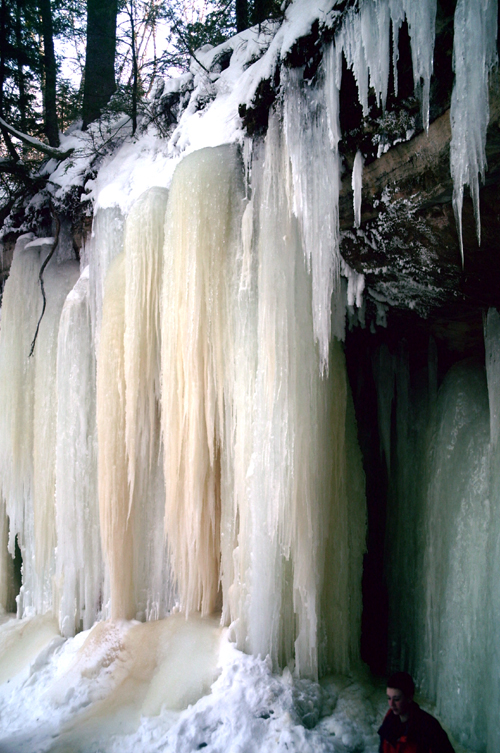 Eben Ice Caves, Photo 144, copyright Kim Nixon