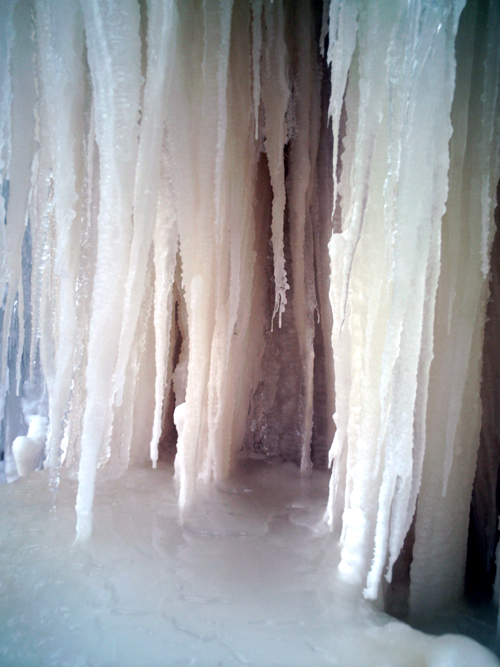 Eben Ice Caves, Photo 146, copyright Kim Nixon