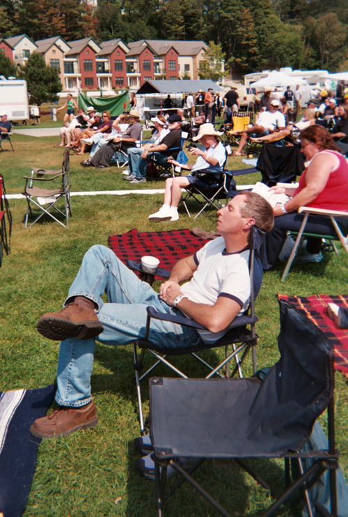 Bluesy Mike, Marquette Area Blues Festival 2008, copyright Kim Nixon