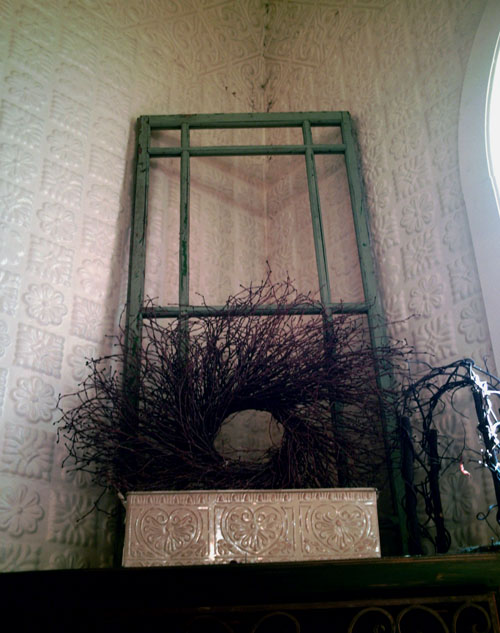 Church of the Wildwood, Window in Corner, photo by Kim Nixon