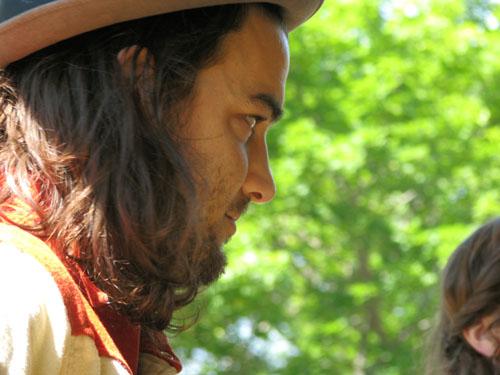 Seth Bernard, Hiawatha 2008, photo copyright Kim Nixon