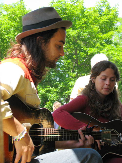 Seth Bernard and Daisy May, Hiawatha 2008, photo copyright Kim Nixon
