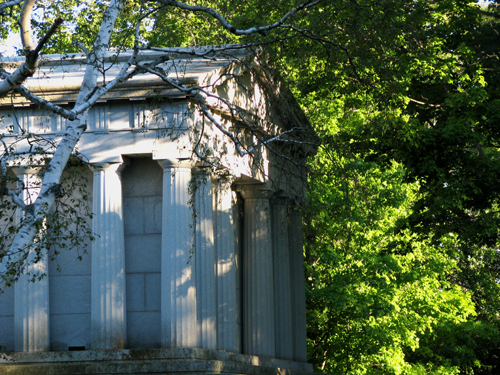 Peter White's Tomb, photo by Kim Nixon