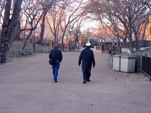 Father and Son, photo copyright Kim Nixon