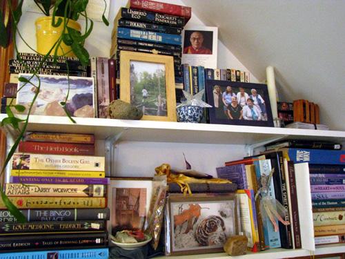 At My Back, Kim's Studio, photo by Kim Nixon