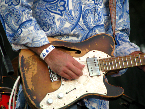 Tab Benoit, Marquette Area Blues Fest 2008, photo copyright Kim Nixon
