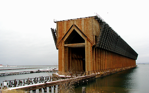 December Ore Dock, photo copyright Kim Nixon