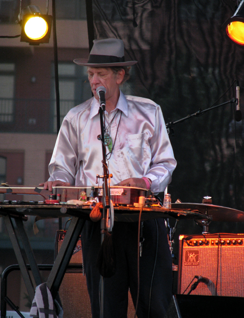 Watermelon Slim, Marquette Area Blues Fest, photo copyright Kim Nixon