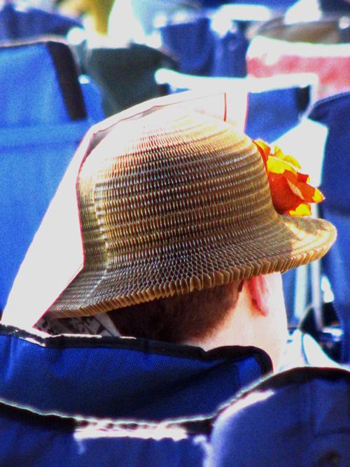 Hats of Blues Fest, Marquette Area Blues Fest 2008, photo copyright Kim Nixon