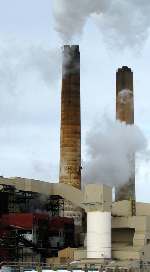 Presque Isle Power Plant, Marquette Michigan, photo copyright Kim Nixon