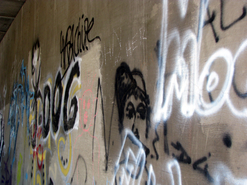 Graffiti Series, Photo by Kim Nixon