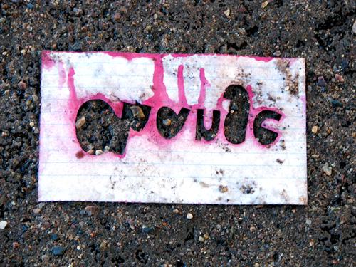 Graffiti Series, Photo by Kim Nixon