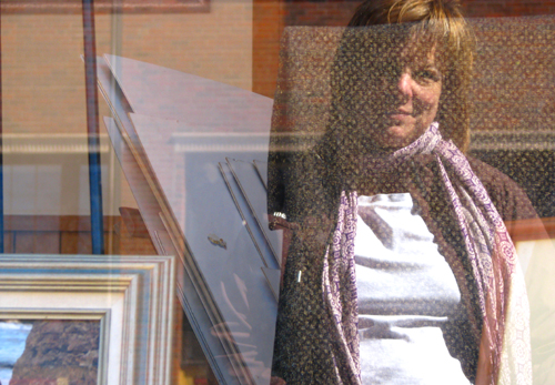Kim in Portrait Window